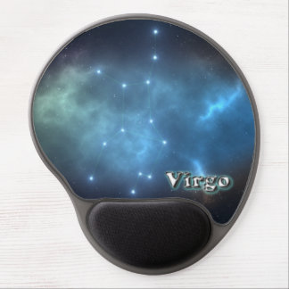 Virgo constellation gel mouse pad
