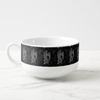Virgo Constellation Hevelius 1690 Vintage Soup Bowl With Handle
