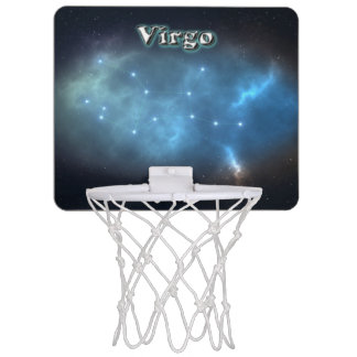 Virgo constellation mini basketball hoop