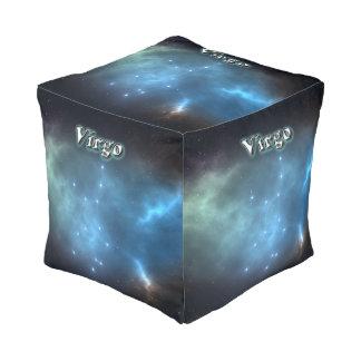 Virgo constellation pouf