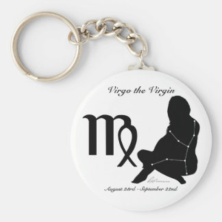 Virgo Constellation/Zodiac Keychain