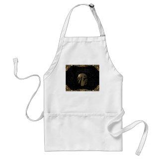 Virgo golden sign standard apron
