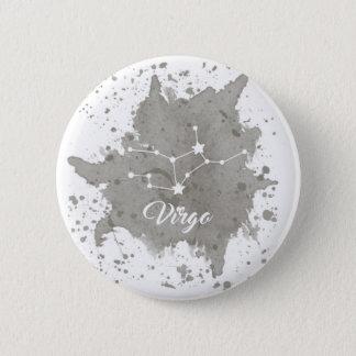 Virgo Gray Button