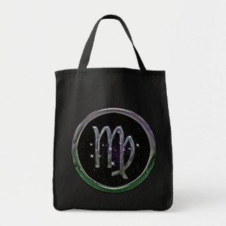 Virgo Grocery Tote Bag