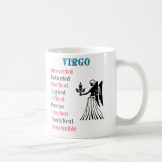 Virgo Horoscope Zodiac Sign Mugs