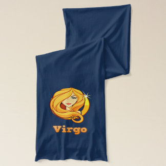 Virgo illustration scarf