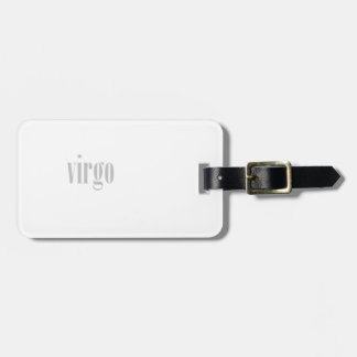 virgo luggage tag