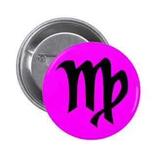 Virgo magenta button