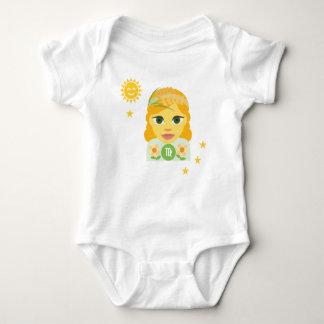 Virgo maiden baby bodysuit - zodiac star sign