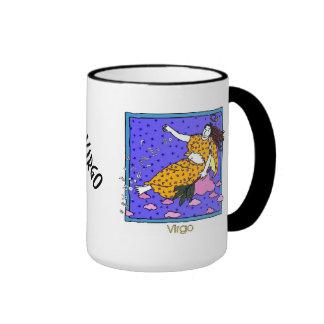 Virgo Ringer Coffee Mug
