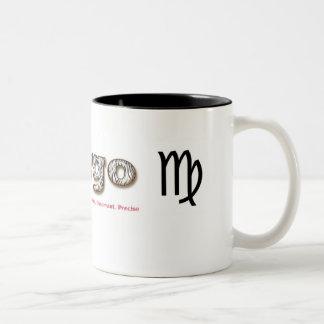 virgo, Two-Tone mug