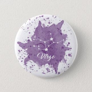 Virgo Purple Button