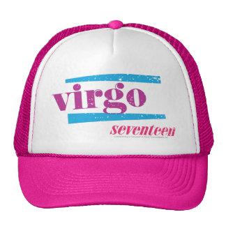 Virgo Purple Trucker Hat