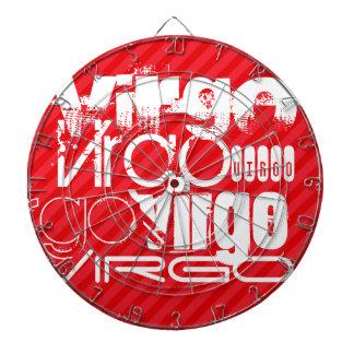 Virgo; Scarlet Red Stripes Dartboards