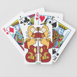 virgo sign zodiac bicycle playing cards