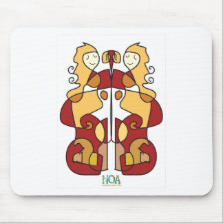 virgo sign zodiac mouse pad