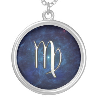 Virgo Silver Plated Necklace