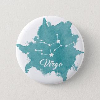 Virgo Star Sign Button