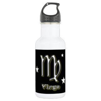 Virgo symbol 532 ml water bottle