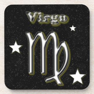 Virgo symbol coaster