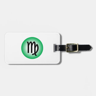 VIRGO SYMBOL LUGGAGE TAG