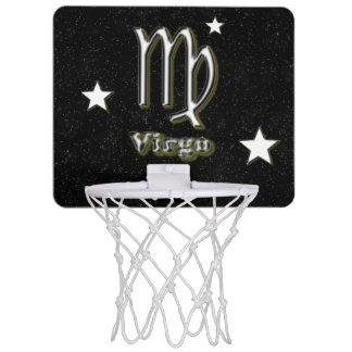 Virgo symbol mini basketball hoop
