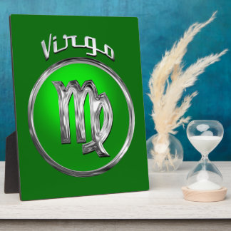 Virgo - The Maid Zodiac Symbol Photo Plaques