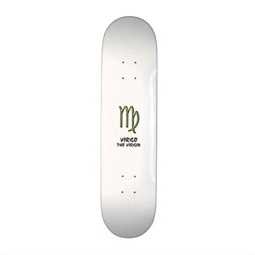 Virgo the virgin skateboard