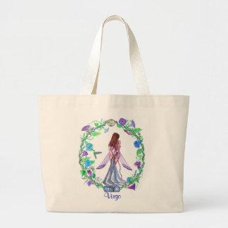 Virgo ~ The Virgin Jumbo Tote Bag
