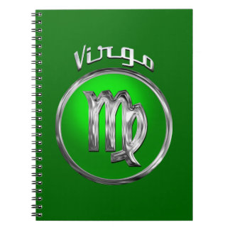 Virgo | The Virgin Zodiac Sign Spiral Notebook