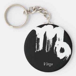 Virgo, Virgo Basic Round Button Key Ring