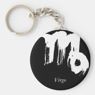 Virgo Virgo Key Chain