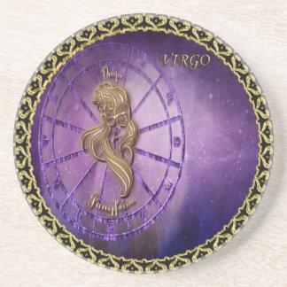 virgo Zodiac Astrology design Horoscope Coaster