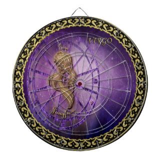 virgo Zodiac Astrology design Horoscope Dartboard