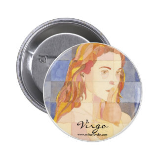 Virgo Zodiac Pin