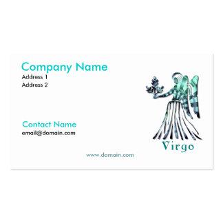 Virgo Zodiac Business Card