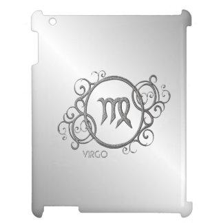 Virgo Zodiac Design Silver Case For The iPad