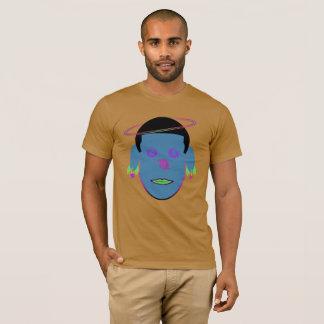 Virgo Zodiac Galactic Dreamer Orange Head T-Shirt