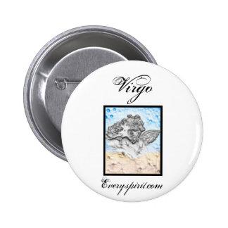Virgo Zodiac Items Pins