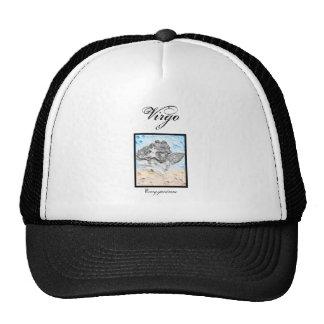 Virgo Zodiac Items Mesh Hat