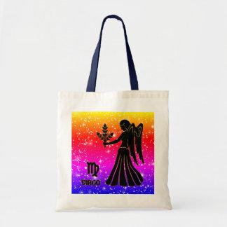 Virgo Zodiac Modern Tote Bags