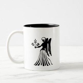 Virgo Zodiac Pictogram Mug