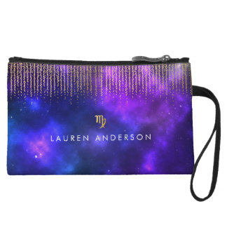 Virgo Zodiac Pretty Cosmetic Bag