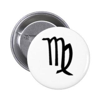 Virgo, Zodiac Sign Pins