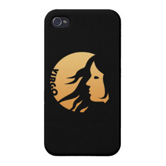 Virgo Zodiac Sign Covers For iPhone 4