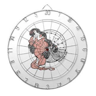 Virgo zodiac sign Horoscope circle Dart Board