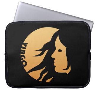 Virgo Zodiac Sign Laptop Sleeve