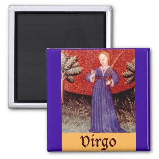 Virgo Zodiac Sign Magnet