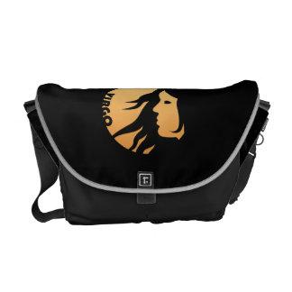 Virgo Zodiac Sign Messenger Bag
