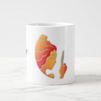Virgo Zodiac Sign 20 Oz Large Ceramic Coffee Mug